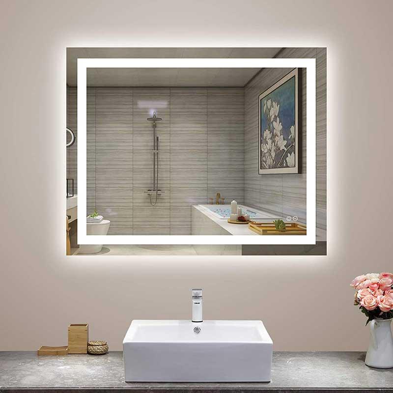 Smart Lighted Bathroom Mirror