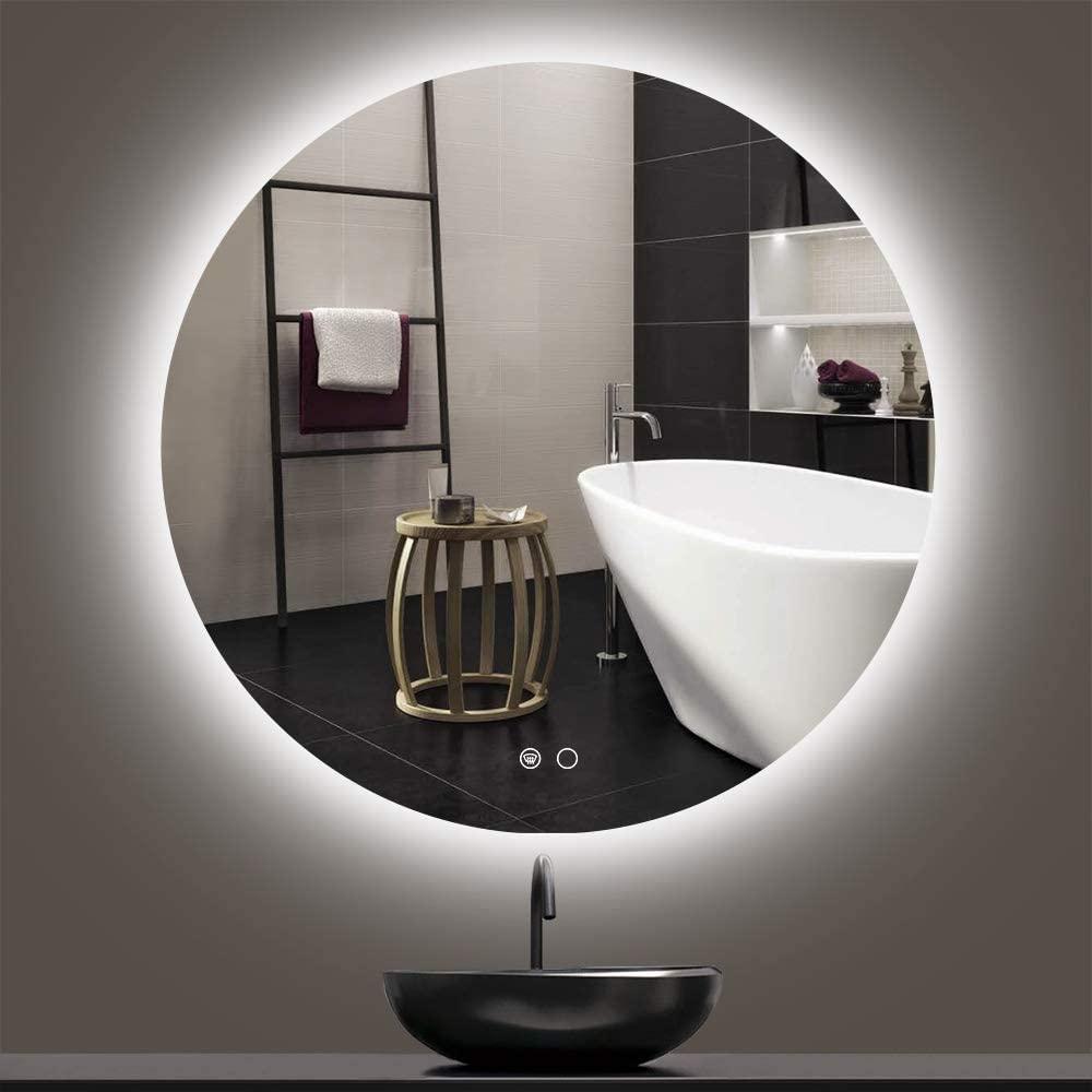 led backlit mirrors