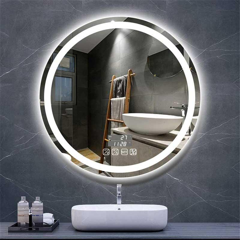 smart led bathroom mirrors