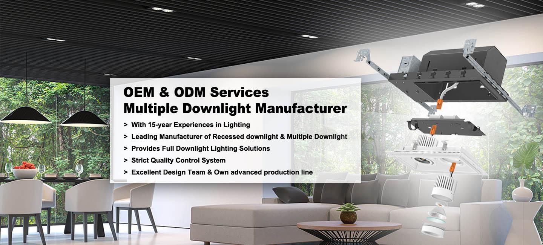 Multiple Downlight manufacturer