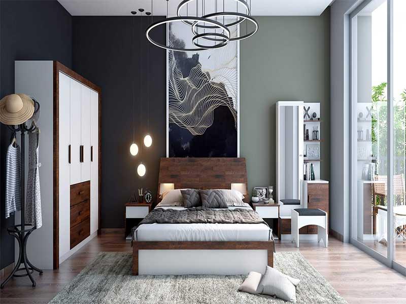 bedroom lighting solution
